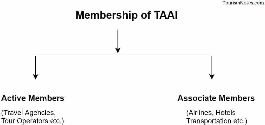 Membership of TAAI